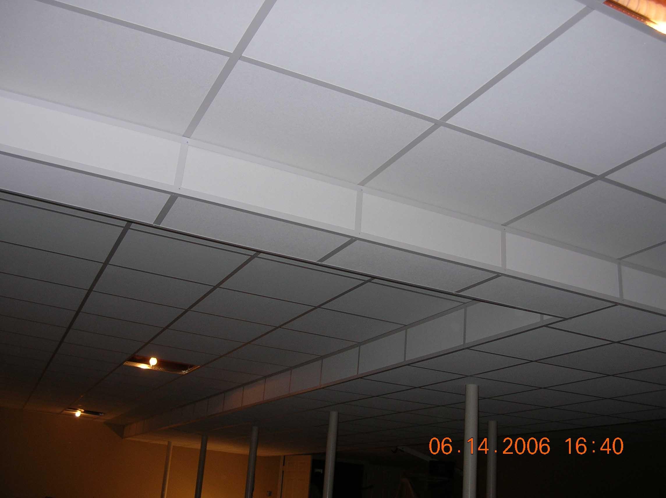 Drop Ceiling For Low Basement