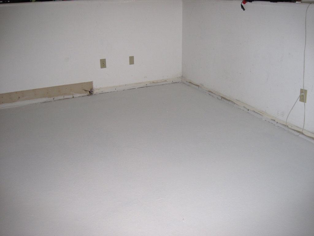 Drylock Basement Subfloor