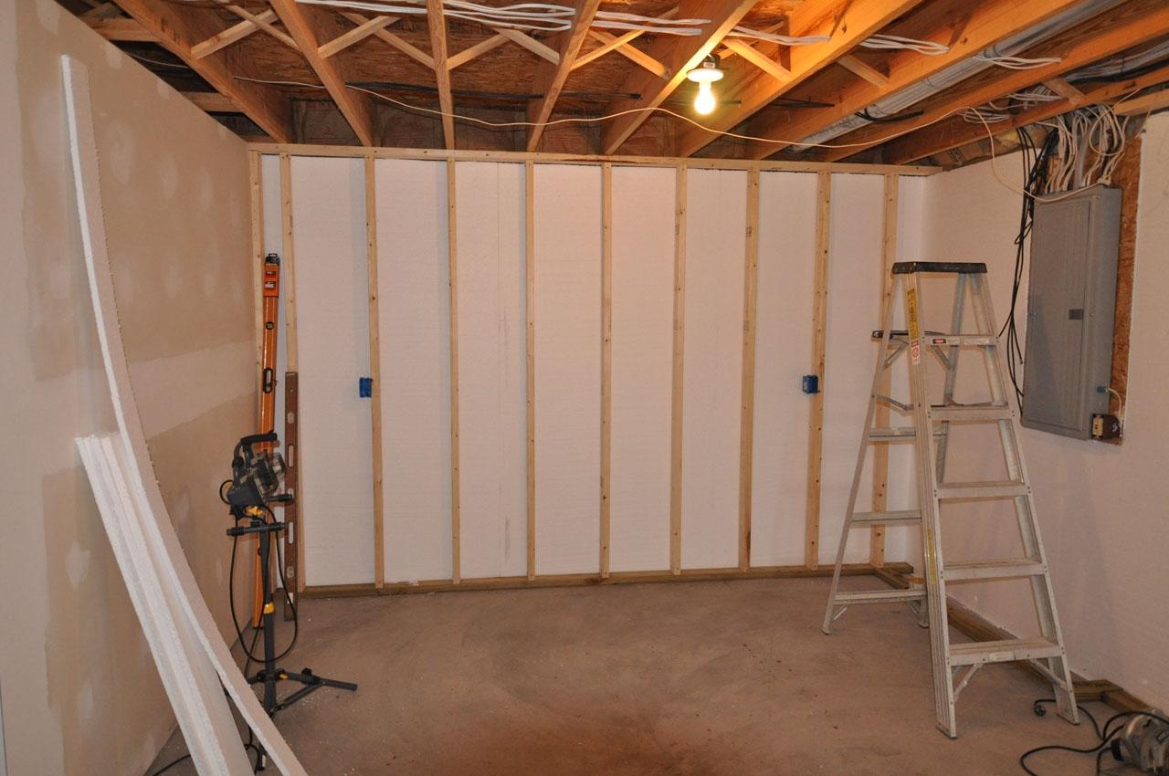 Drywall Basement Walls Furring Strips Drywall Basement Walls Furring Strips basement wall finishing 1280 X 850