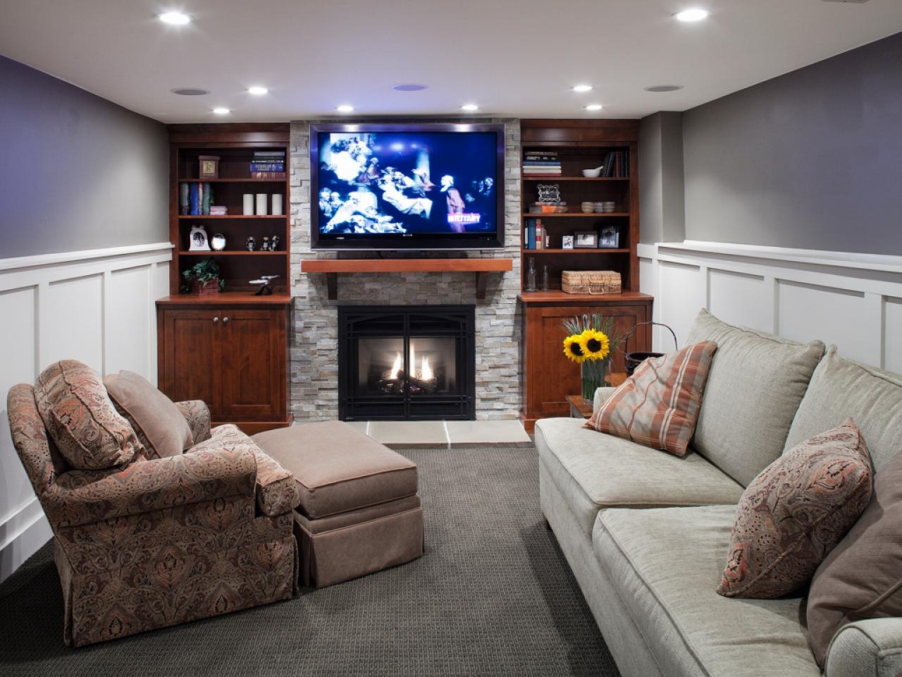 Electric Space Heater Basement