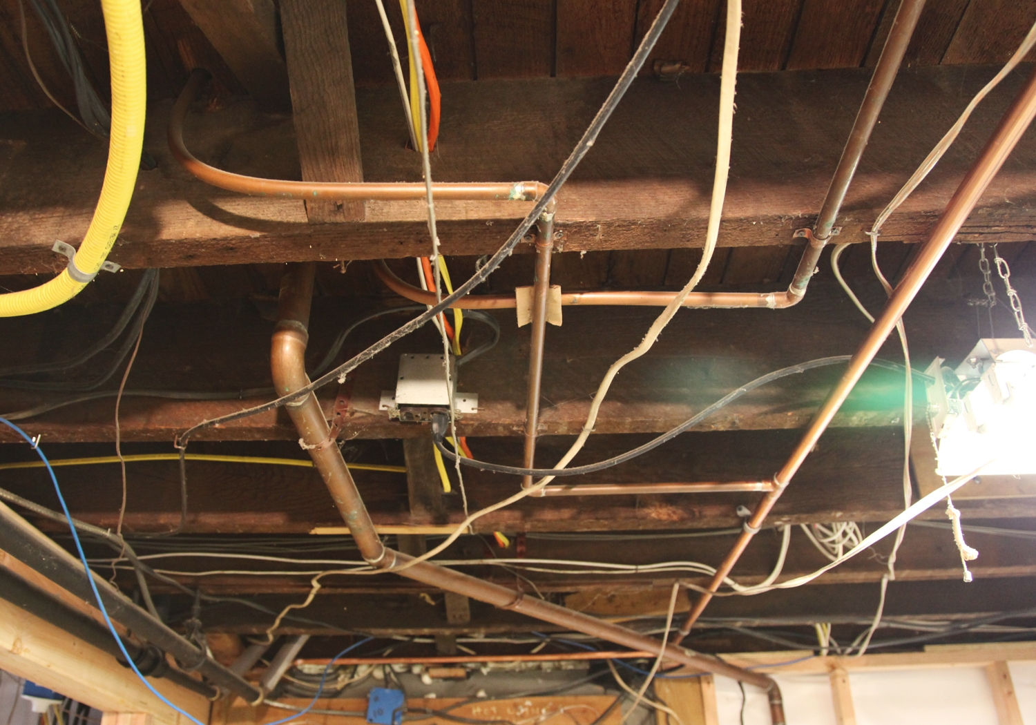 Electrical Wiring Basement Ceiling