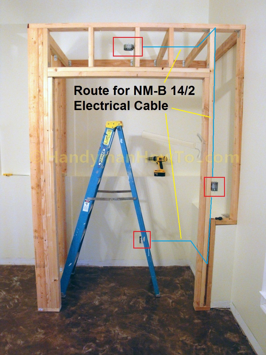 Electrical Wiring Basement Lighting
