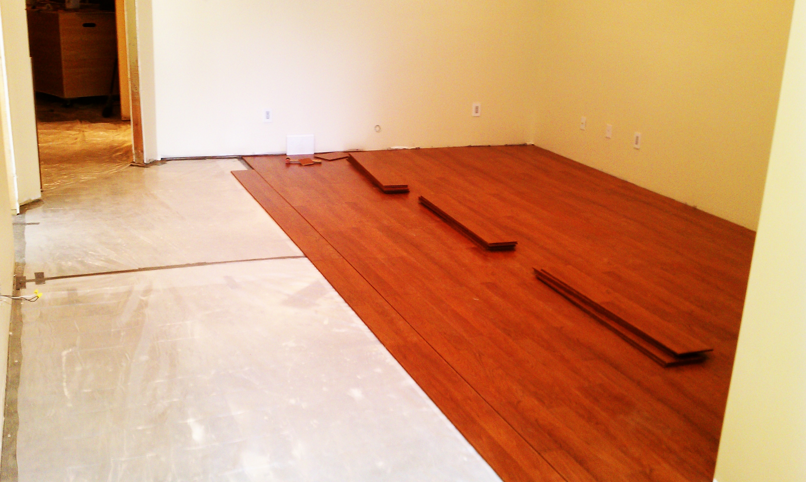 Engineered Hardwood On Concrete Basement Floor