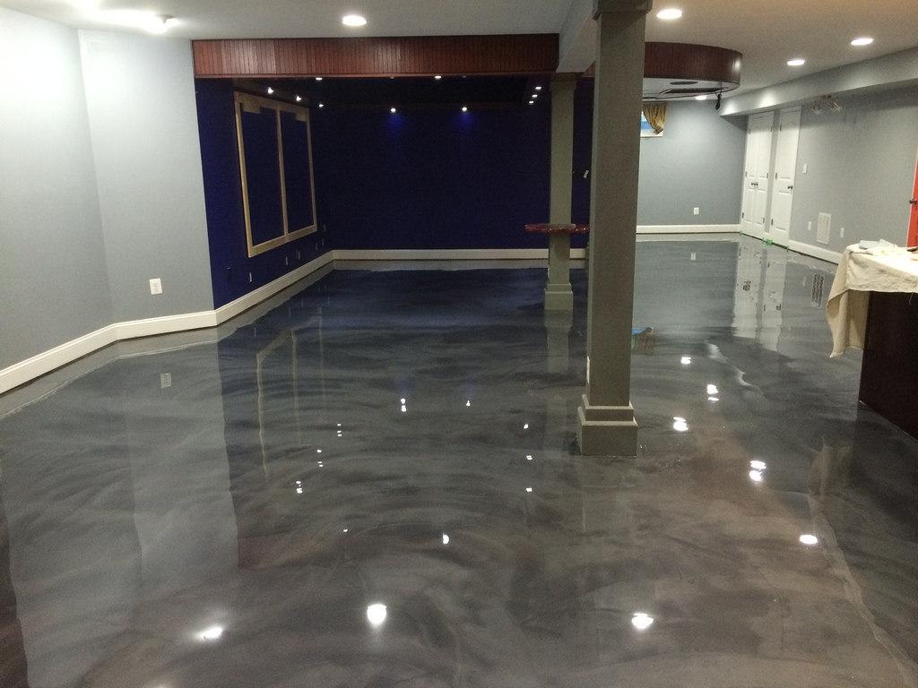 Epoxy Basement Floor Images