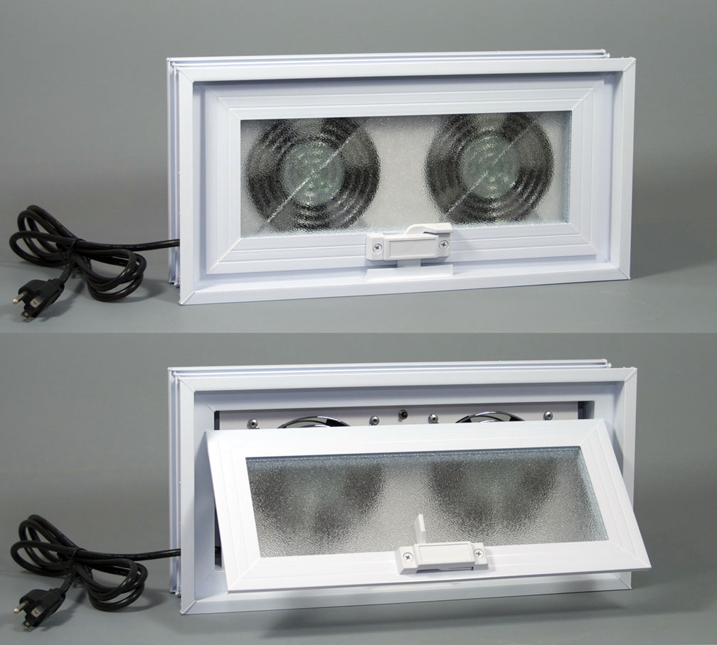 Exhaust Fan Basement Window