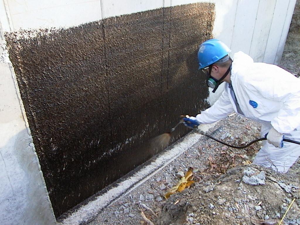 Exterior Basement Waterproofing New Construction