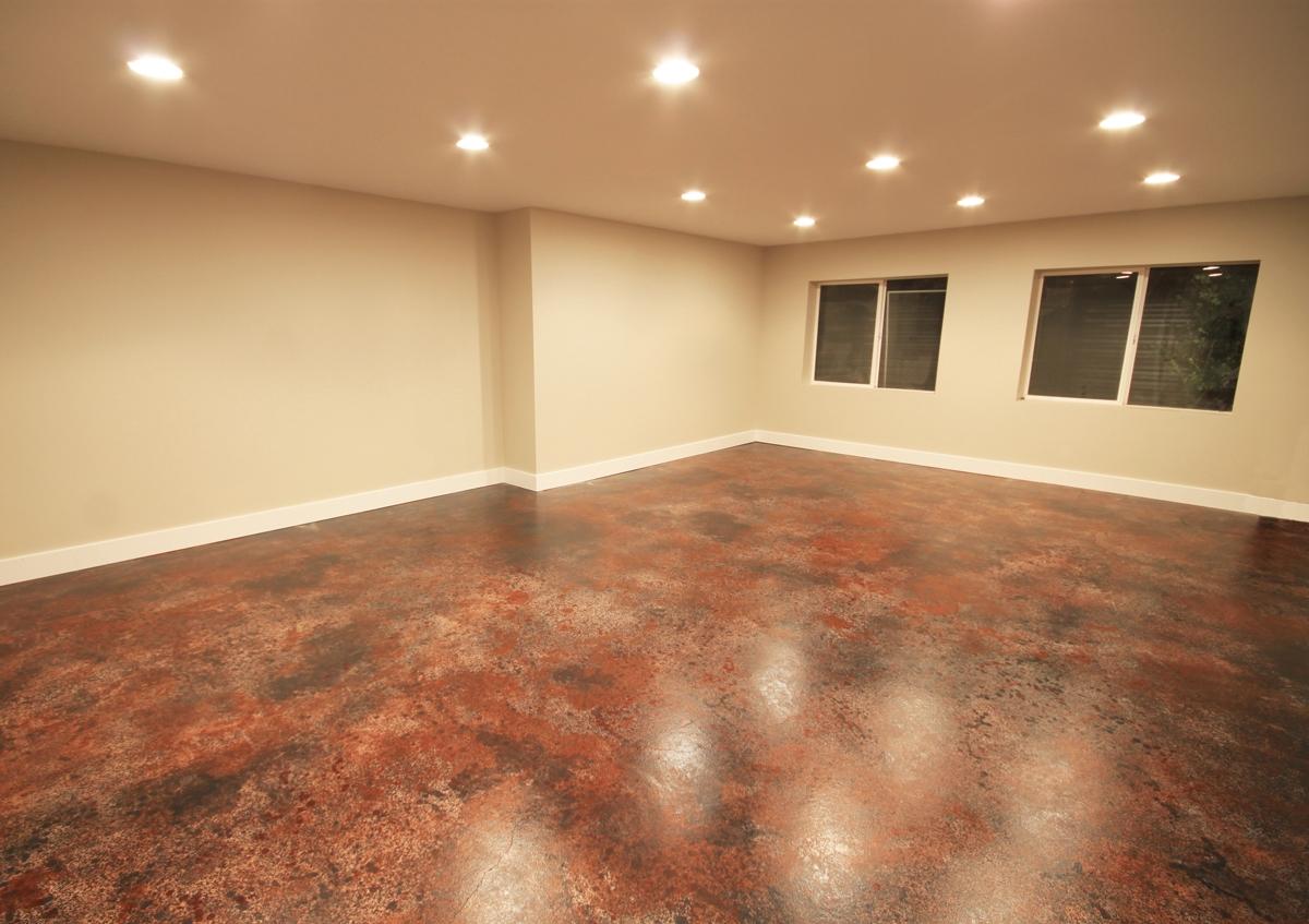 Finishing A Concrete Basement Floor