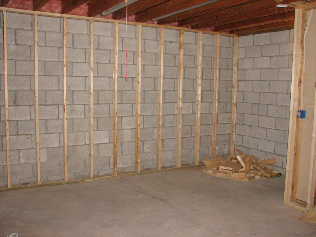 Finishing Basement Walls Without Framing