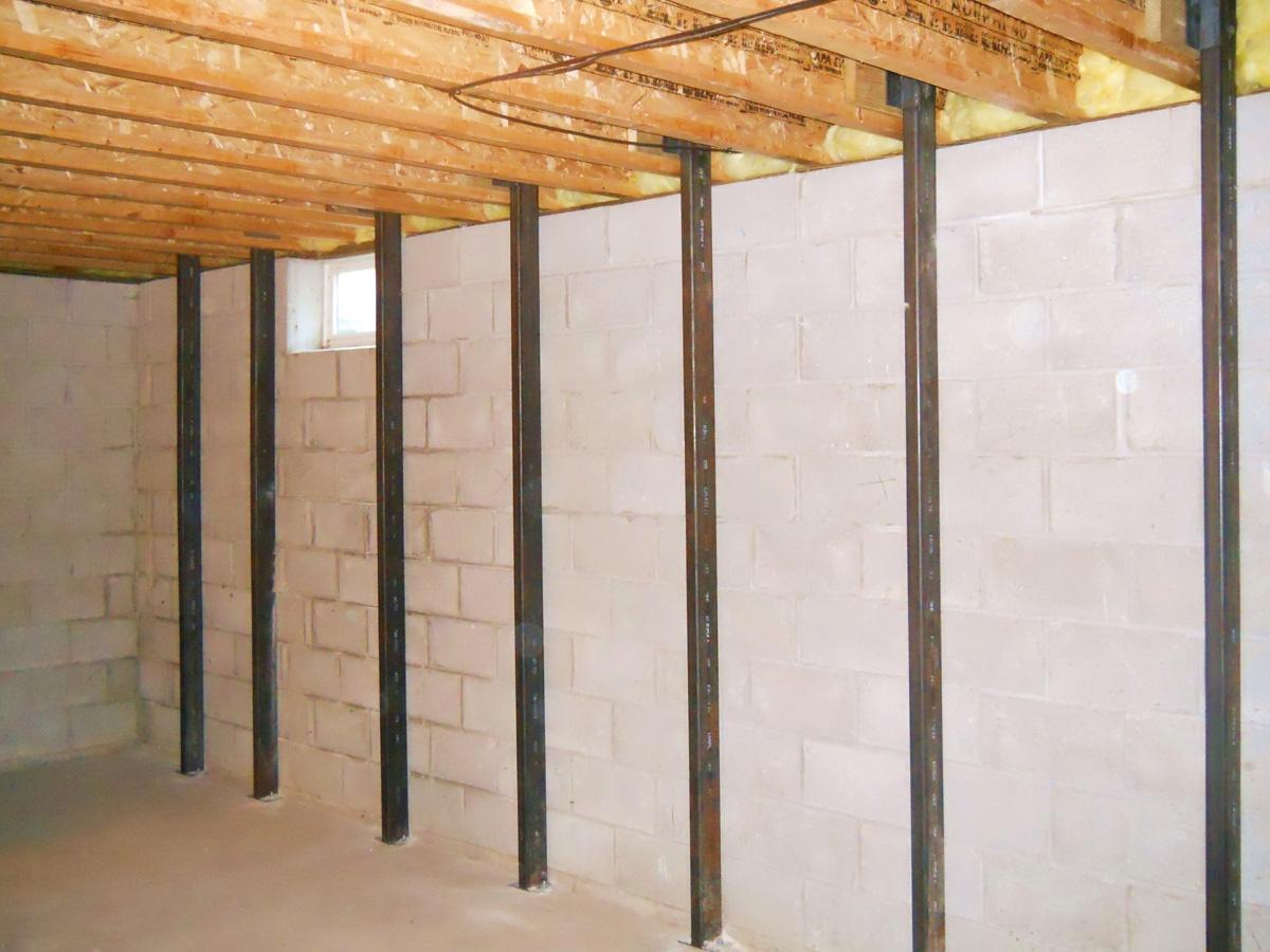 Fixing Basement Walls Bulging Fixing Basement Walls Bulging basement foundation repair creekside contractors 1200 X 900