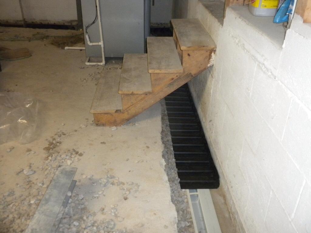 Floor Shield Waterproof Basement Subfloorno water interior subfloor basement waterproofing installation