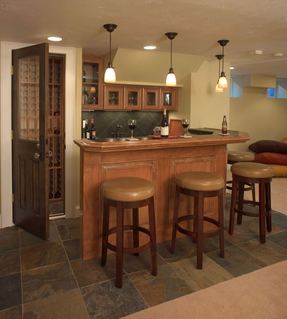 Flooring Ideas For Basement Bar