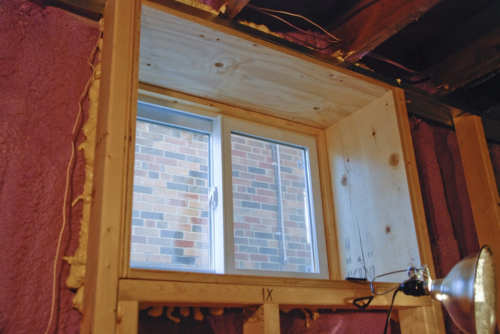 Frame Out Basement Walls
