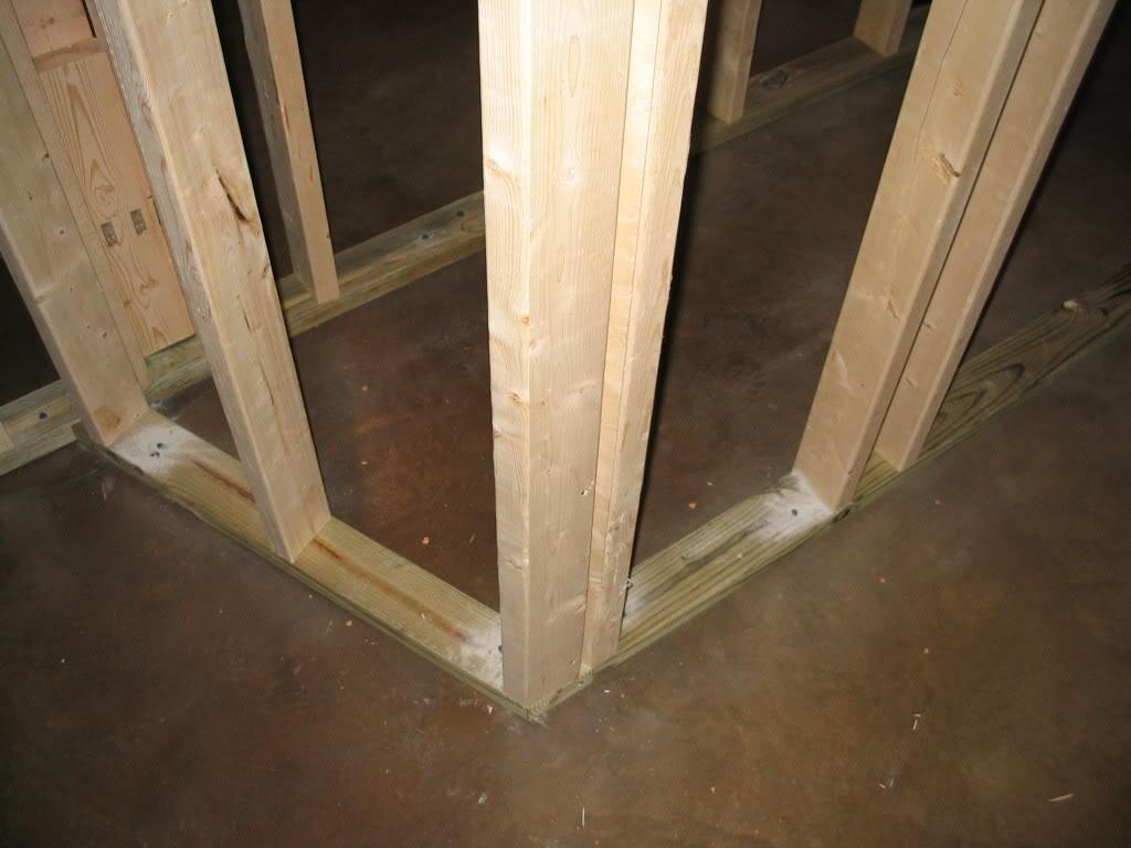 Framing Basement Walls Corners