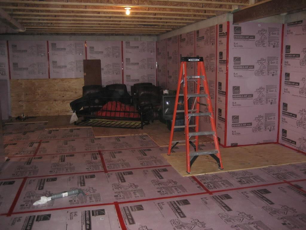 Framing Basement Walls Mike Holmes