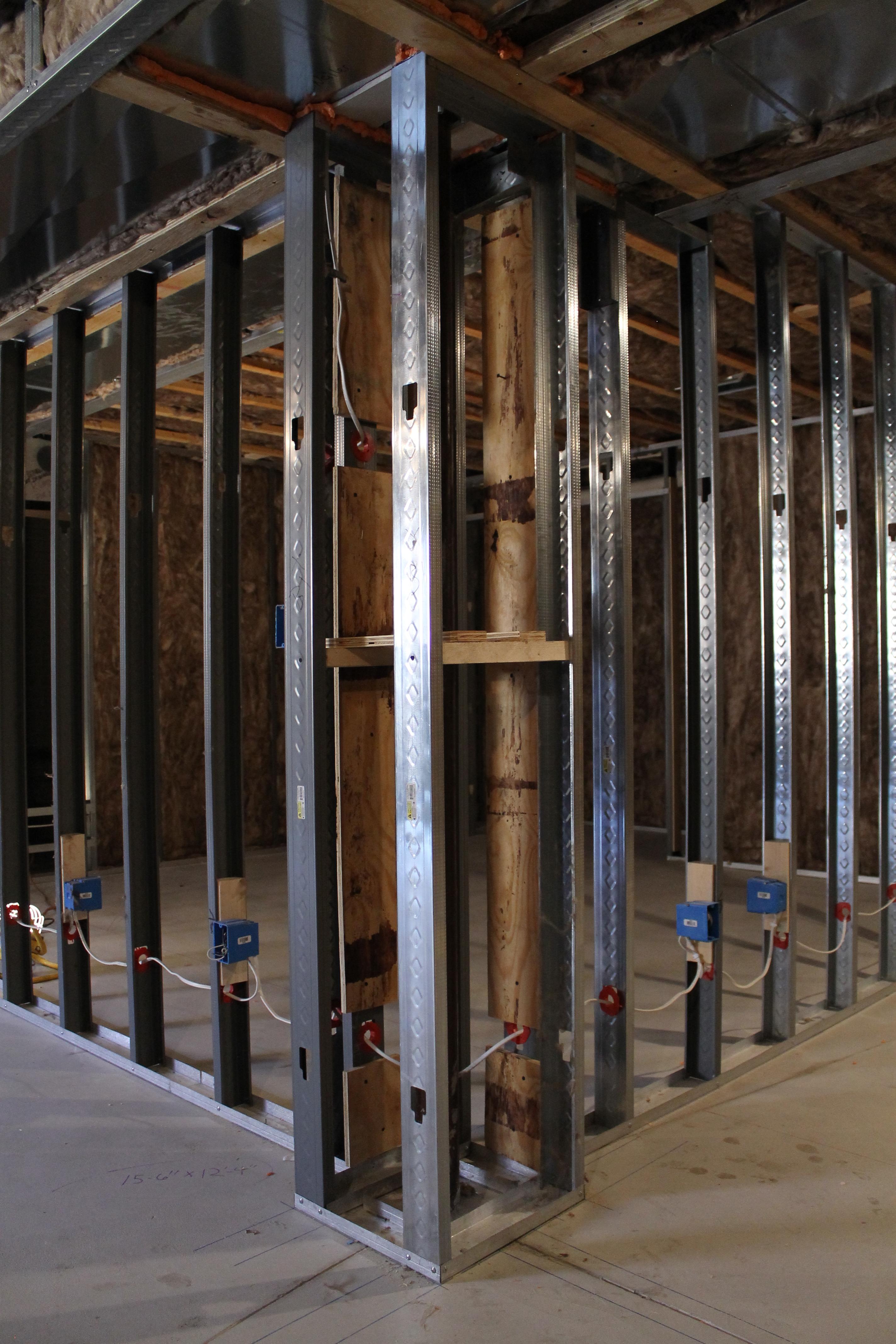 Framing Basement Walls With Metal Studs