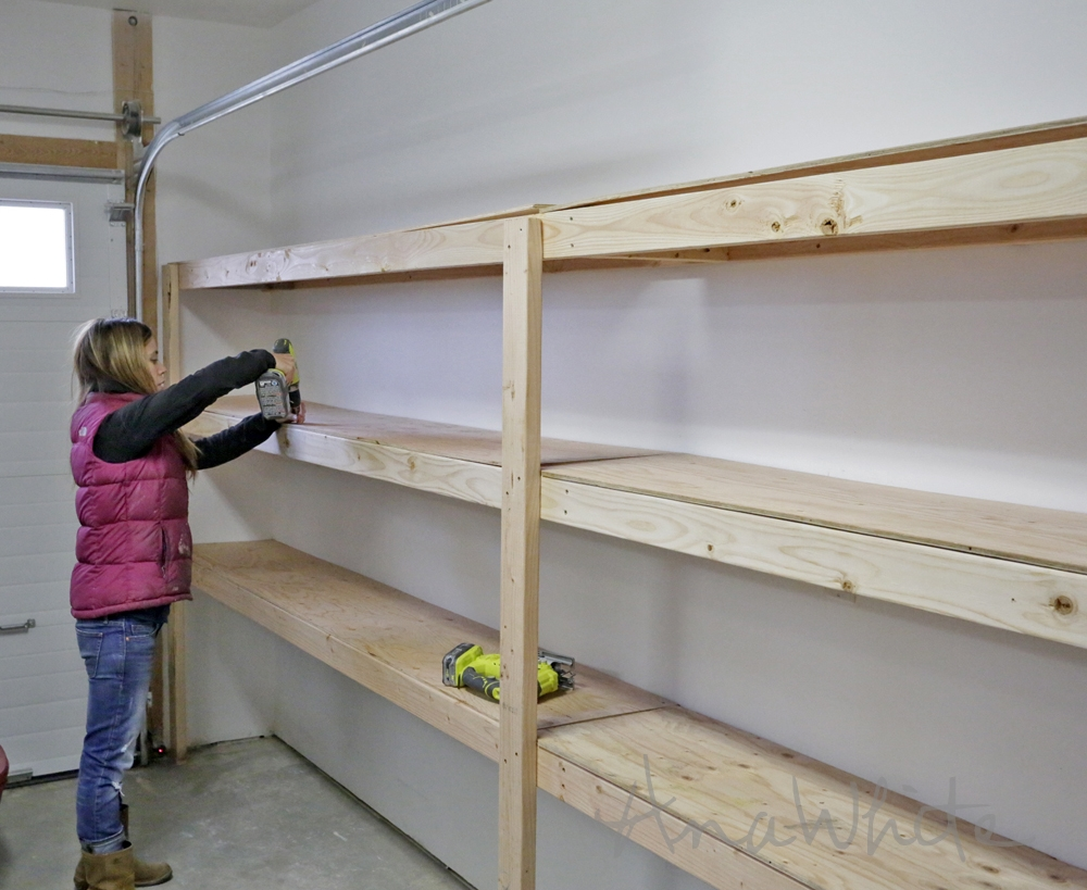 Garage And Basement Storage Systems Garage And Basement Storage Systems ana white easy and fast diy garage or basement shelving for tote 1000 X 819