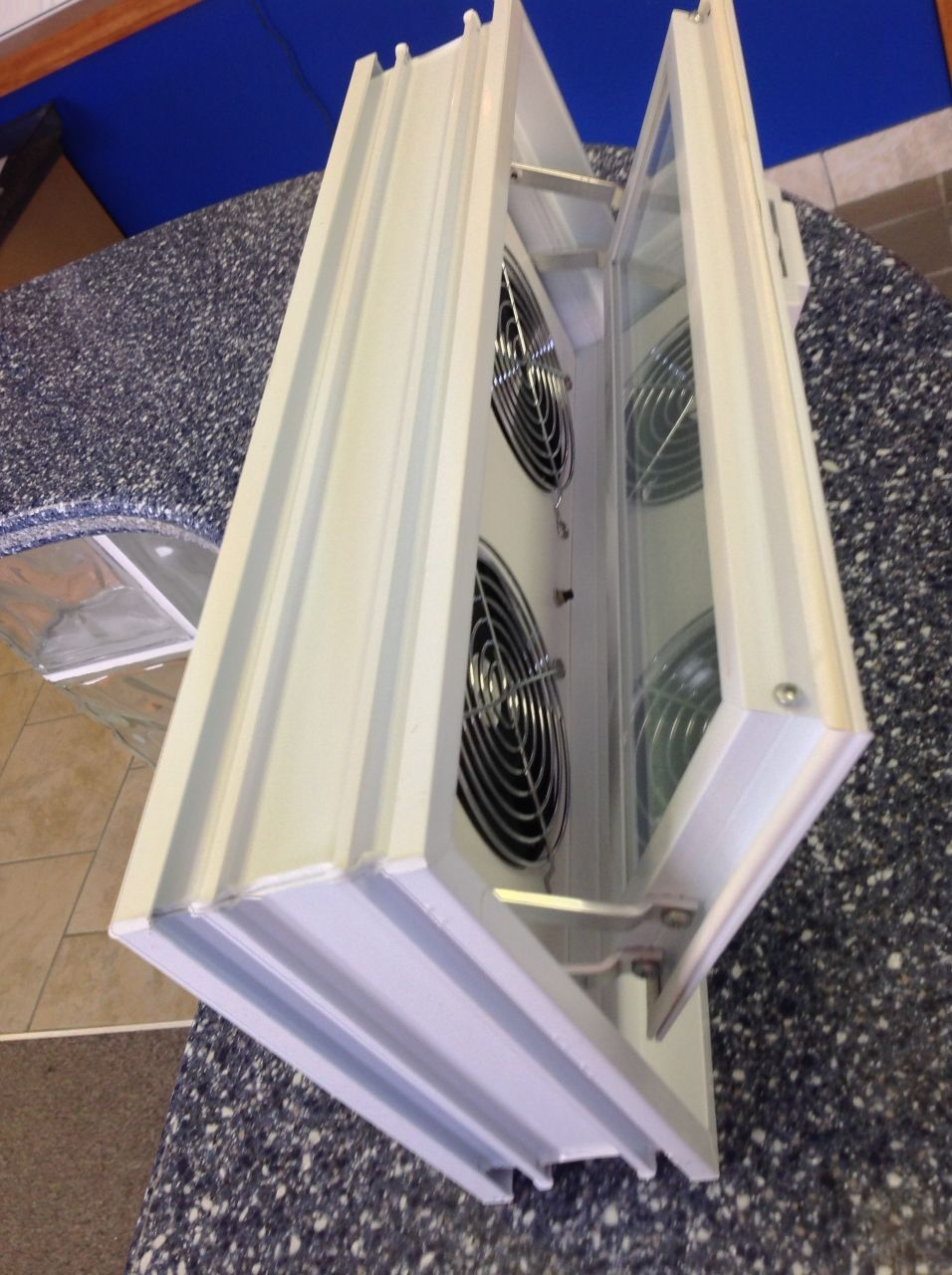Glass Block Basement Window Fans