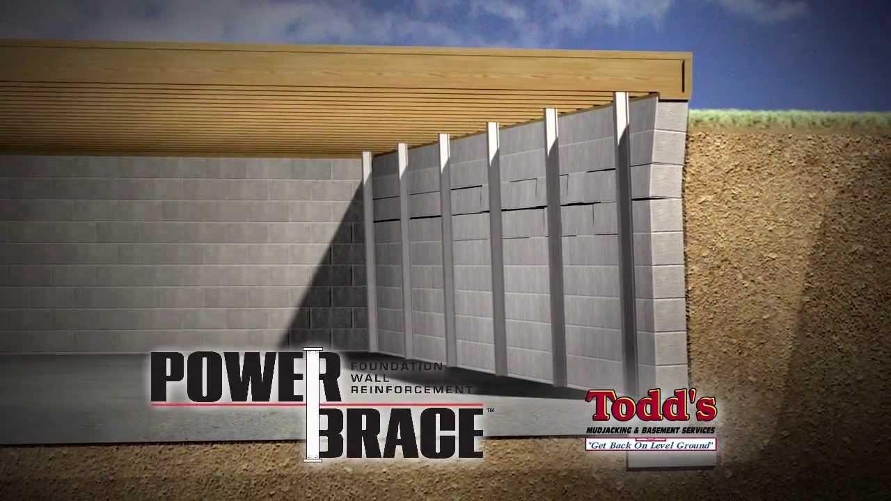 Gorilla Brace Basement Walls