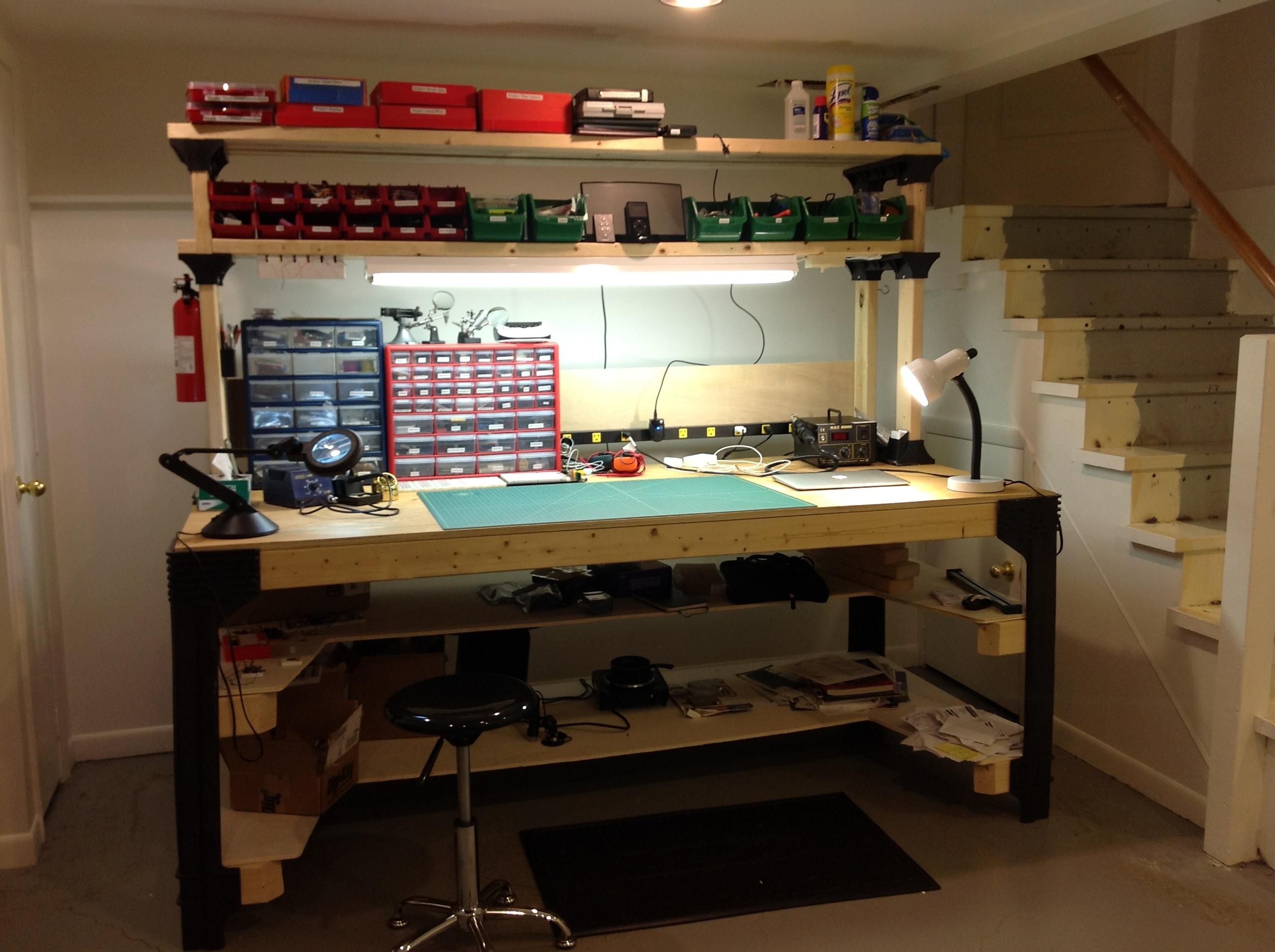 Hobby Workbench Basement