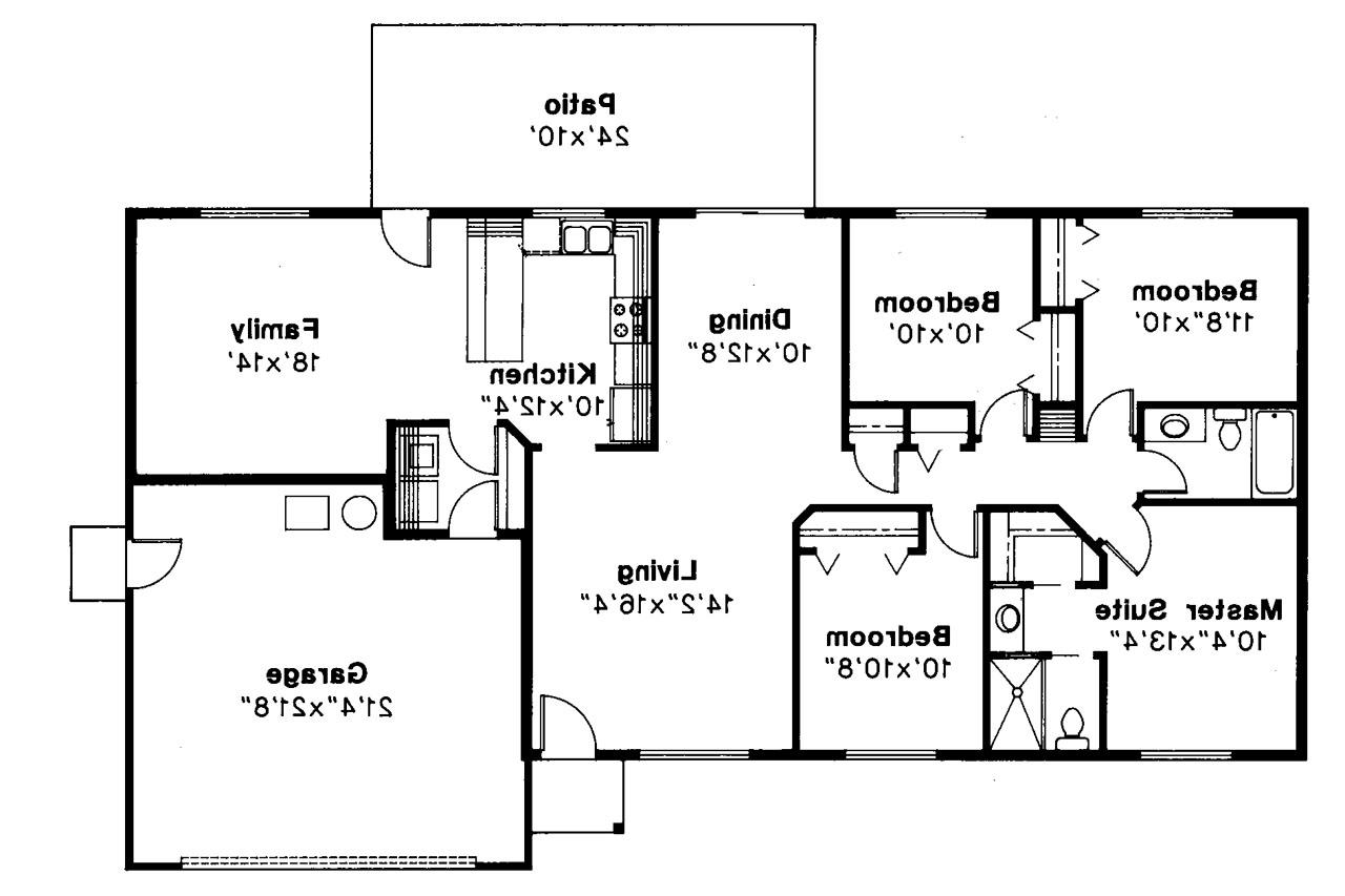 House Plans With Basements 4 Bedrooms