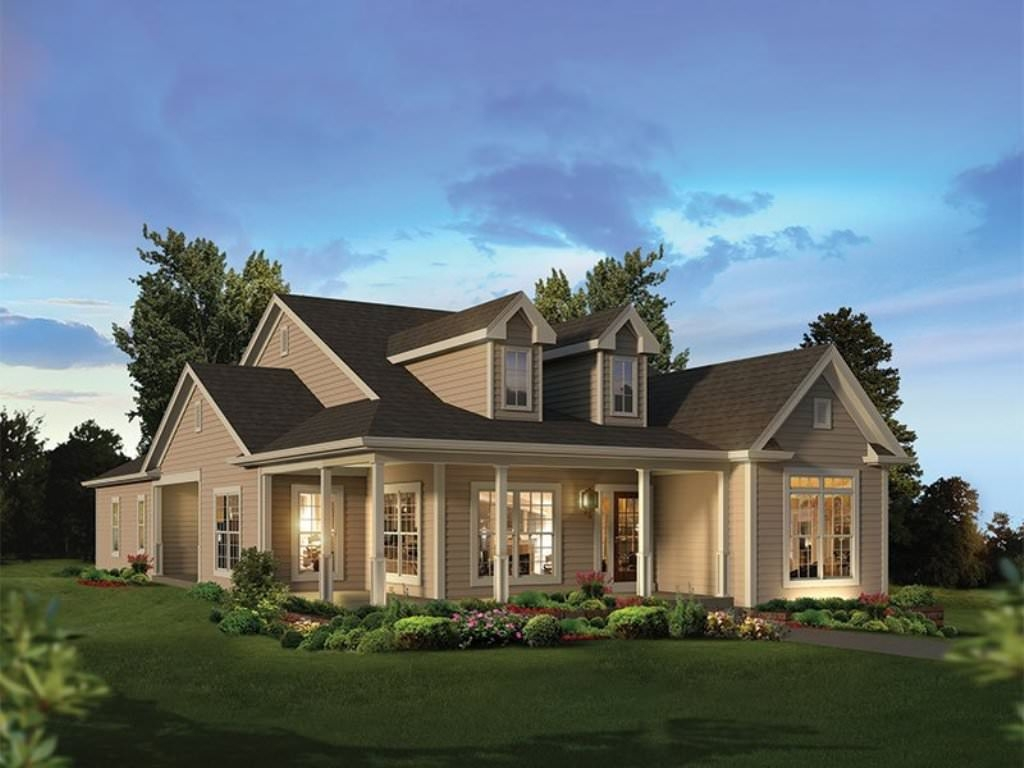 House Plans With Basements And Front Porch