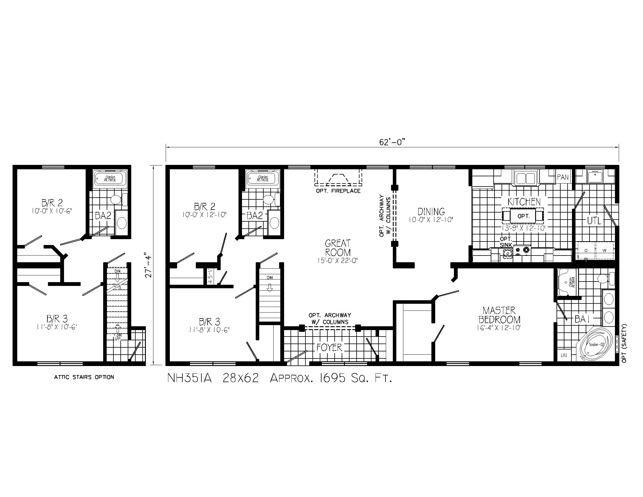 House Plans With Basements Ranch