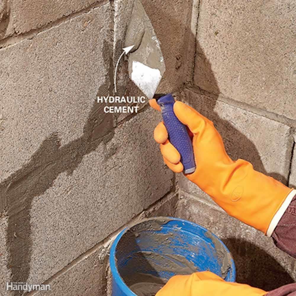 Hydraulic Cement Basement Floor