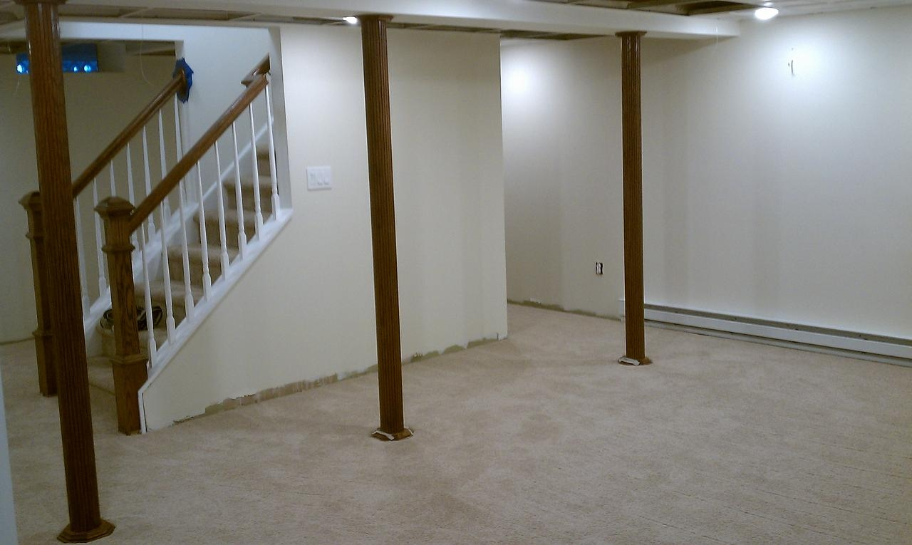 Ideas For Covering Basement Posts