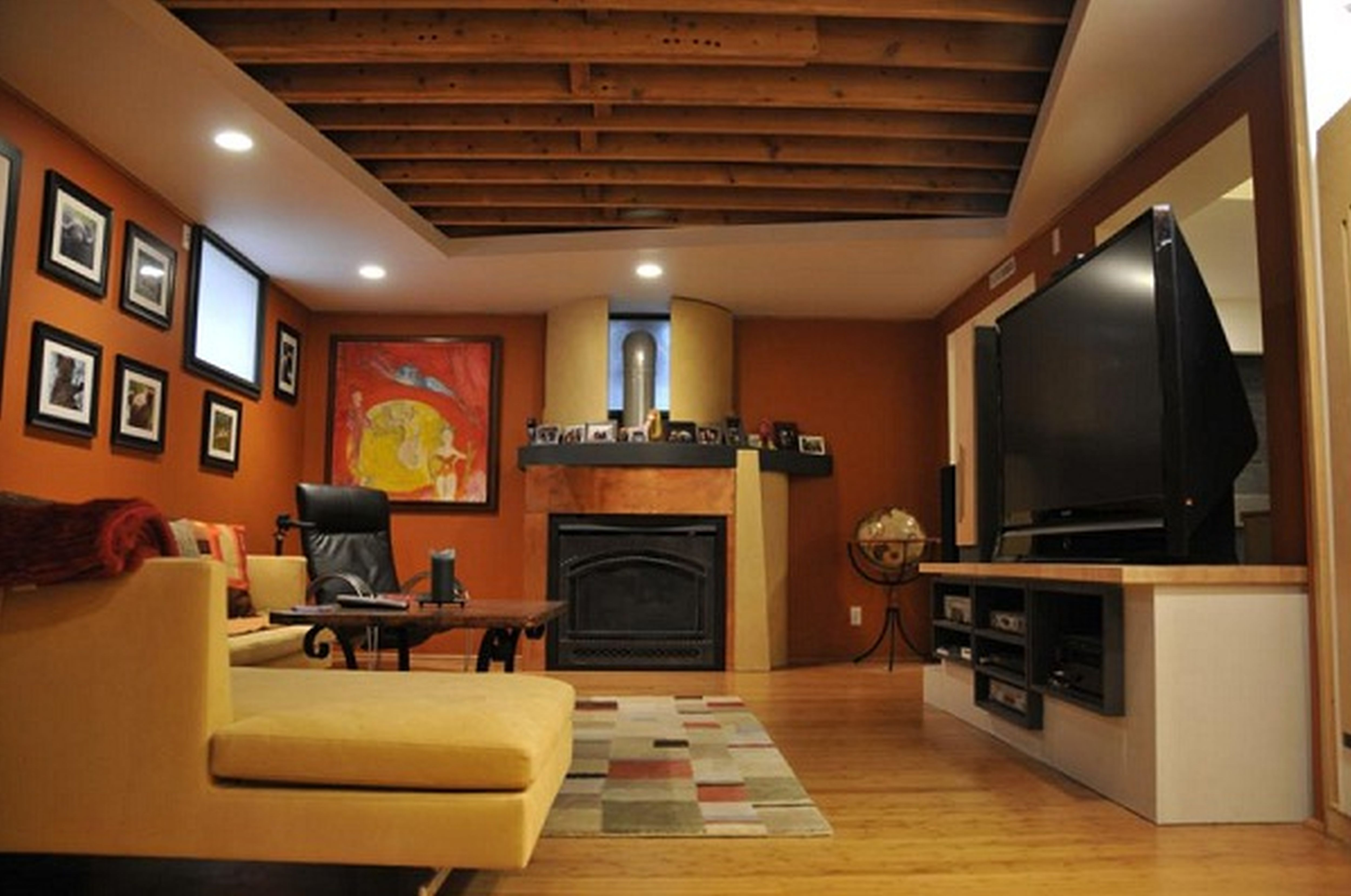 Ideas For Finishing A Basement With Low Ceilings