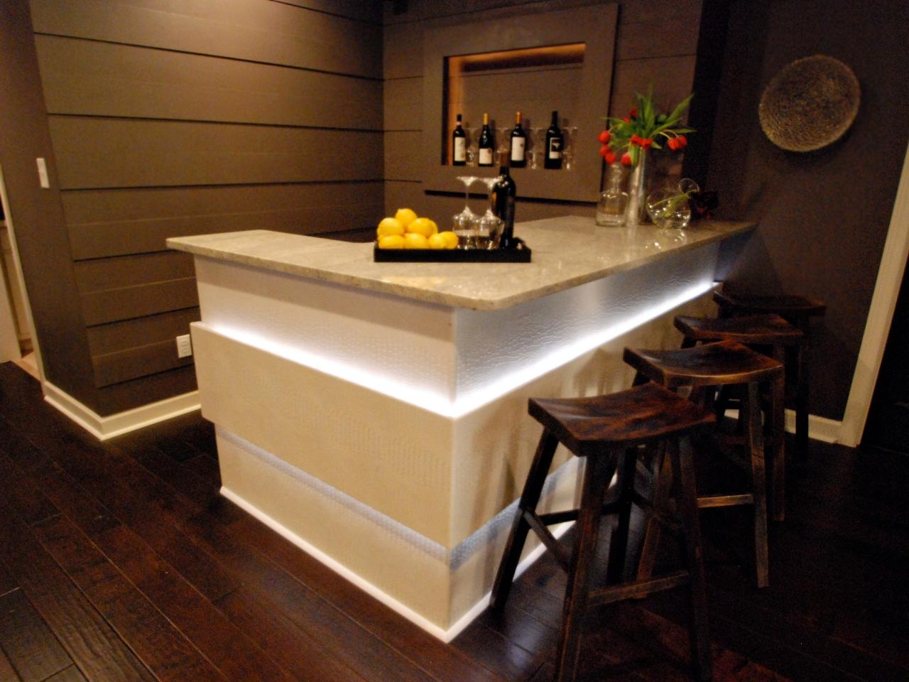 Ideas For Small Basement Bars