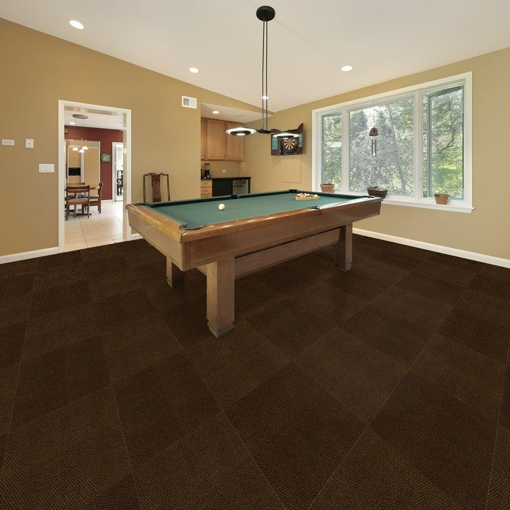 Indoor Outdoor Carpet Tiles For Basement