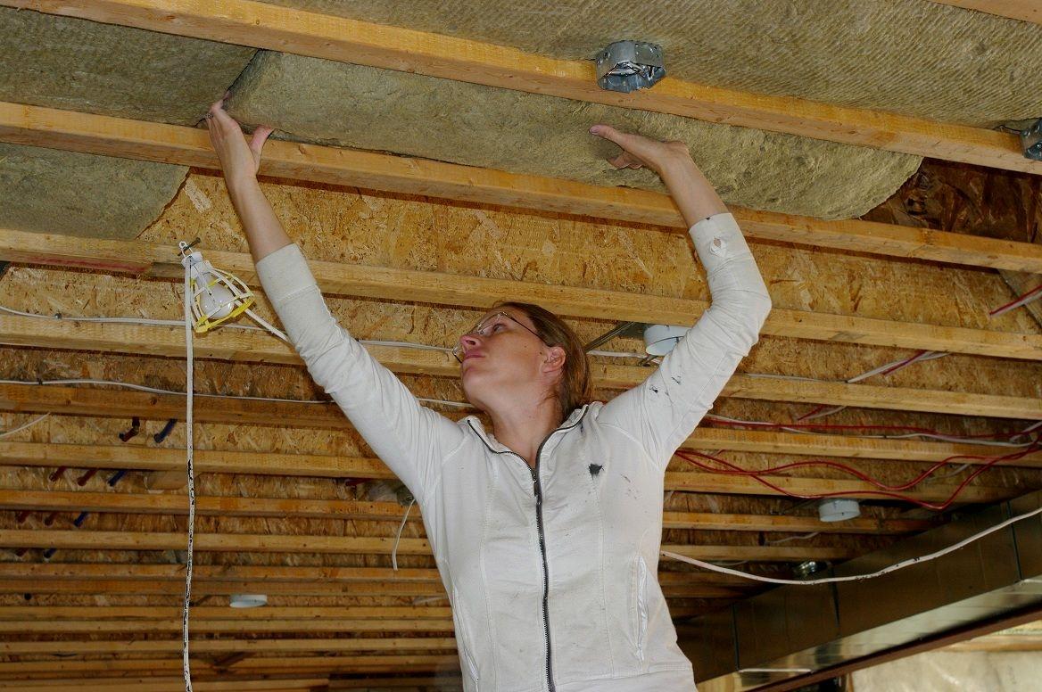 Insulate Basement Ceiling Between Joists