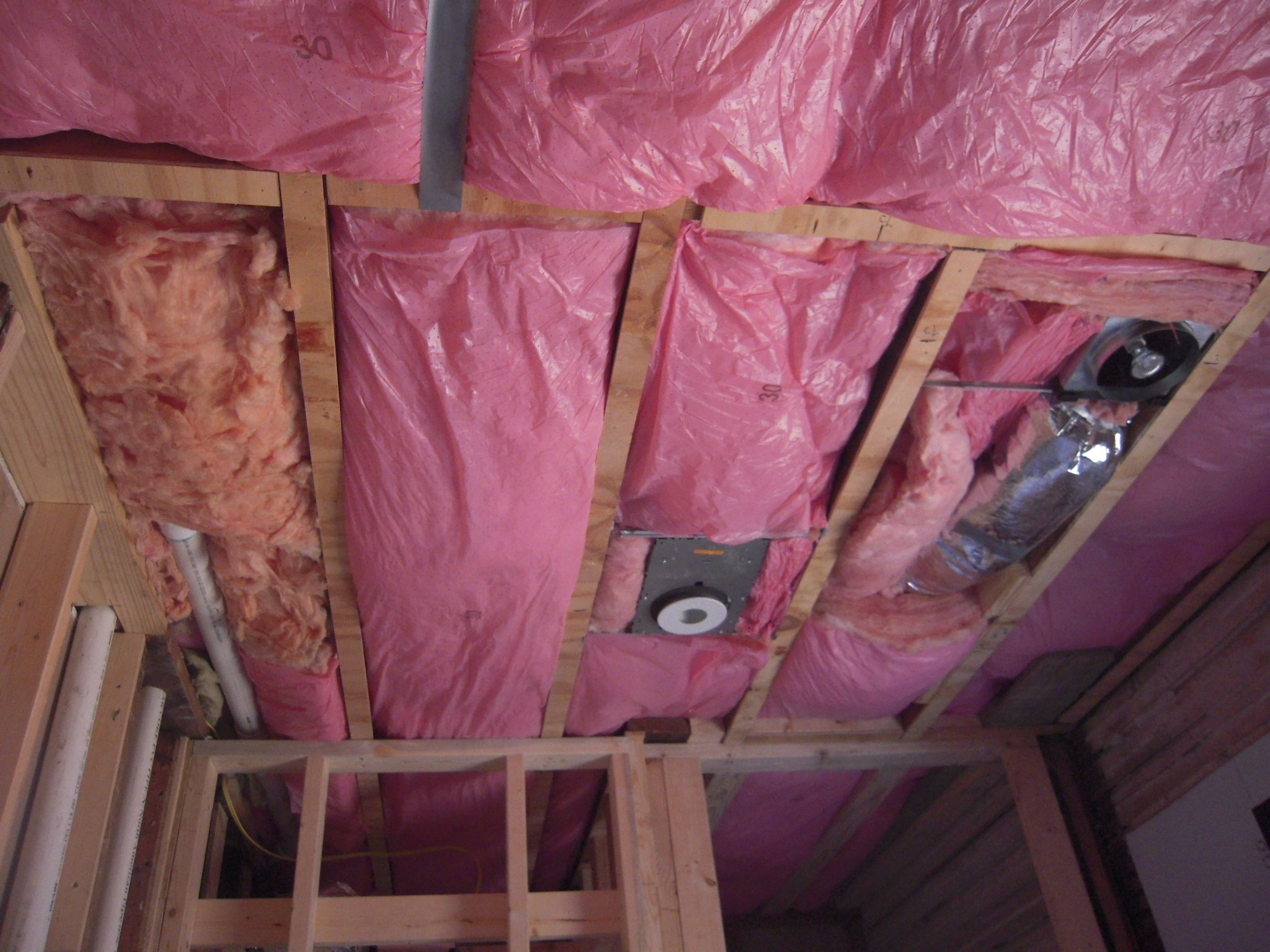 Insulate Basement Ceiling Faced Or Unfaced