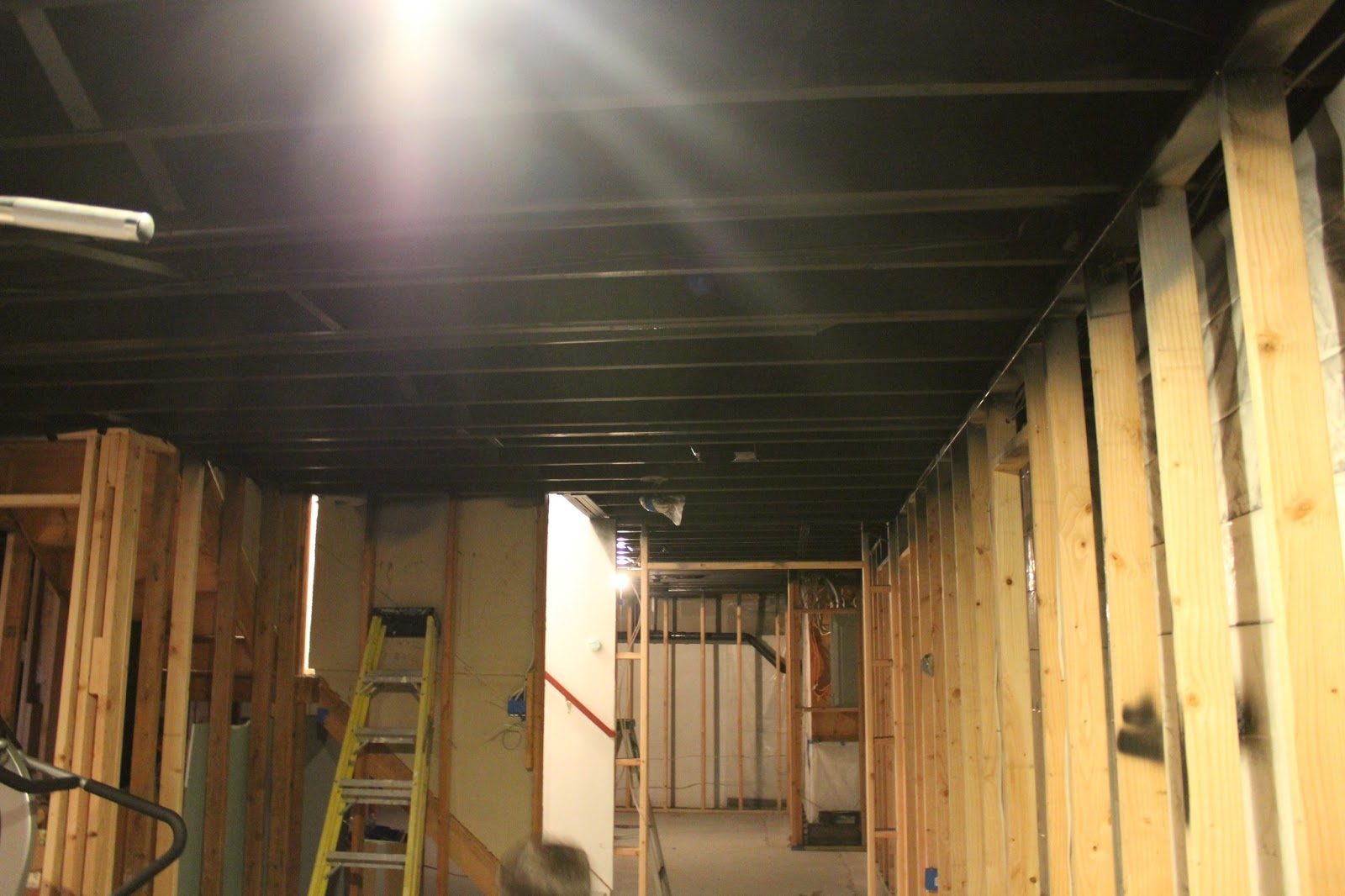 Insulate Basement Ceiling Upside Down