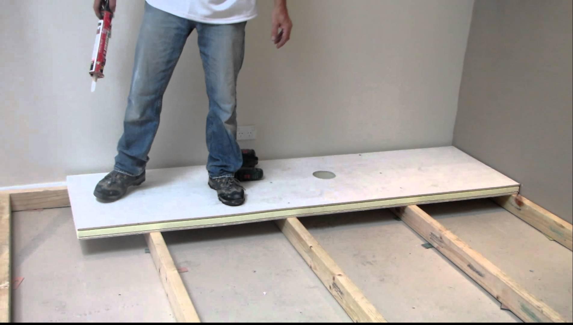 Insulated Basement Subfloor Panels