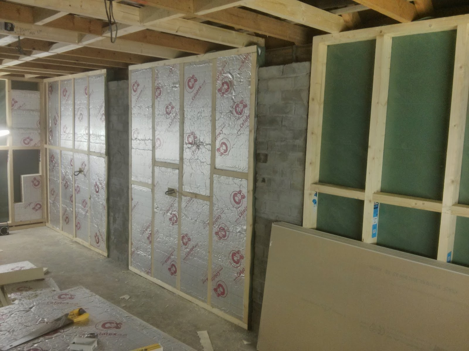 Insulating A Basement Garage Ceiling