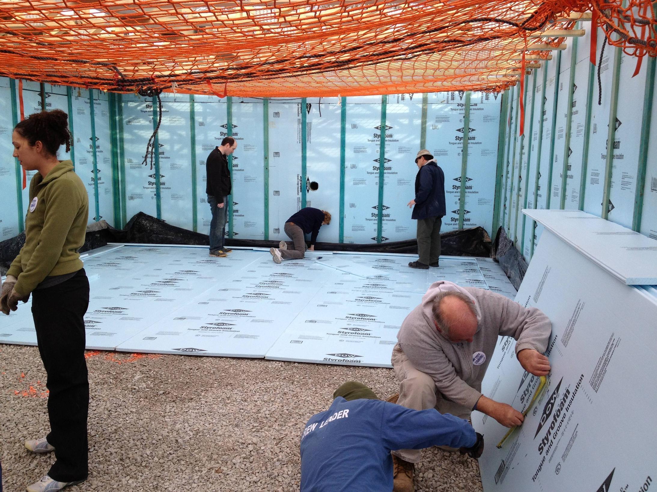 Insulating A Basement Wall With Rigid Foam