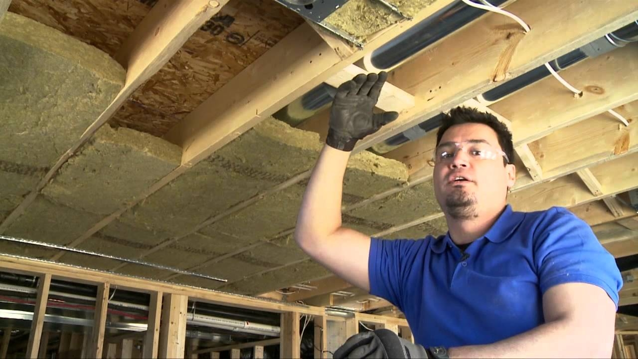 Insulating Basement Ceiling Roxul