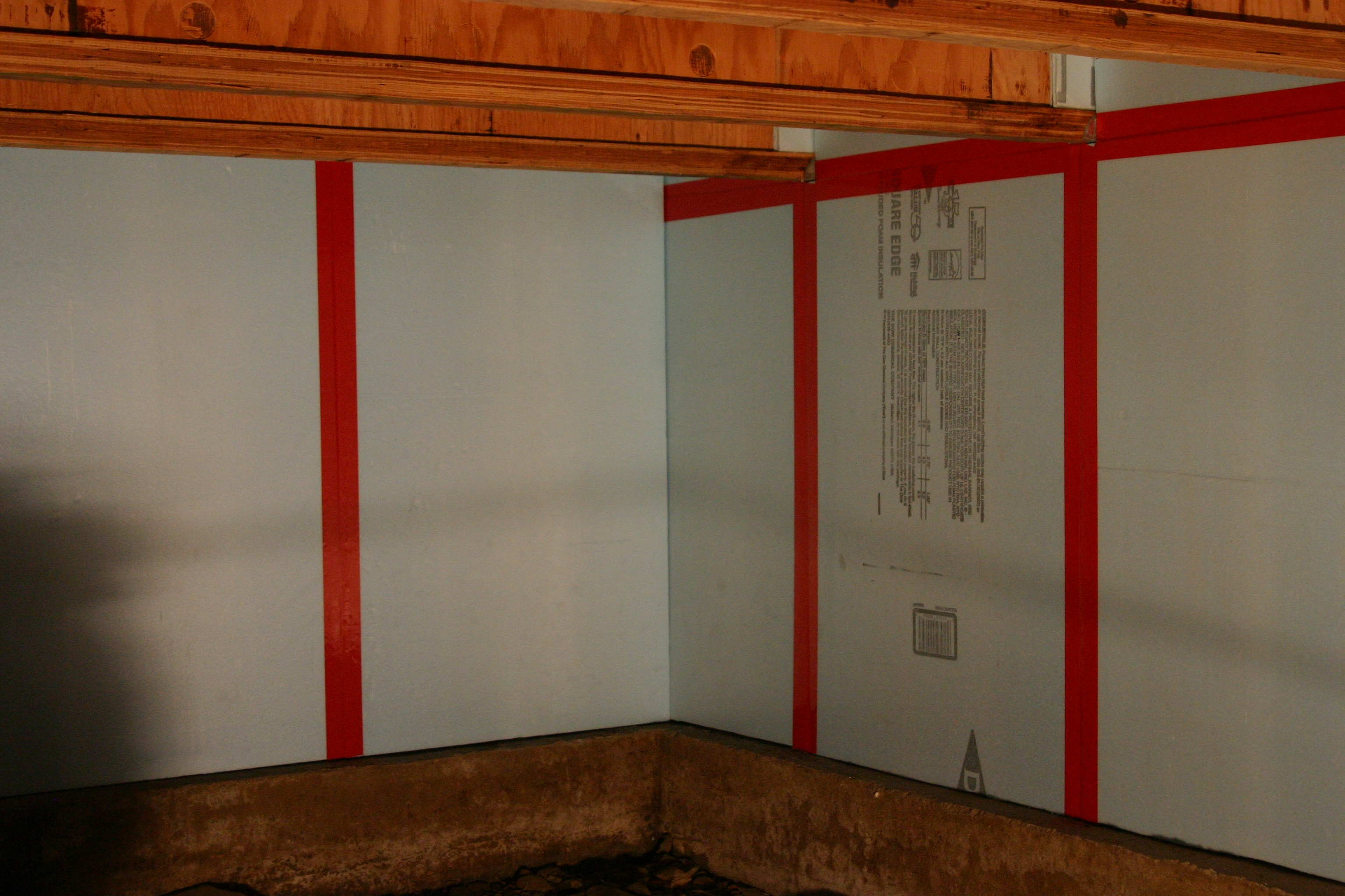 Insulating Basement Ceiling With Foam Board