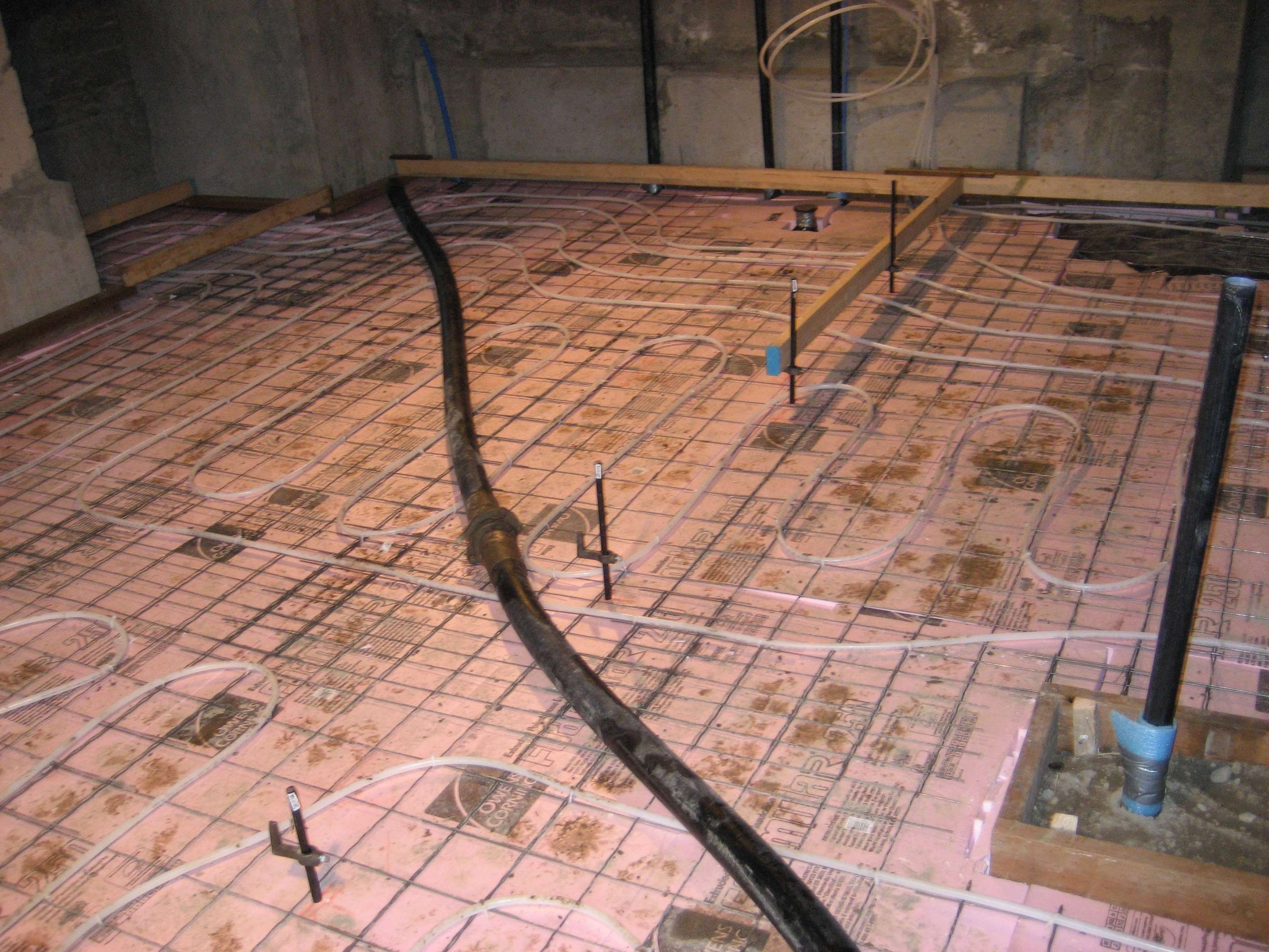 How Do You Insulate A Basement Floor Before Pouring Concrete