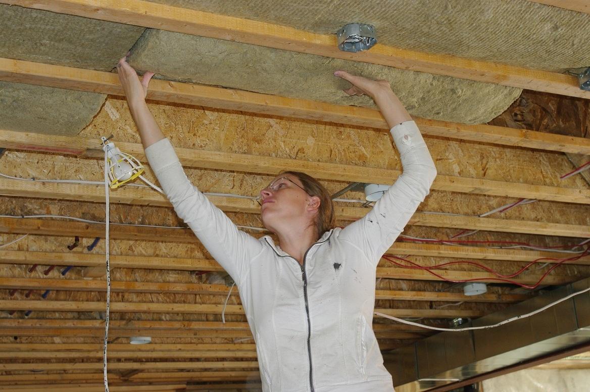 Insulation Basement Ceiling Sound Dampening