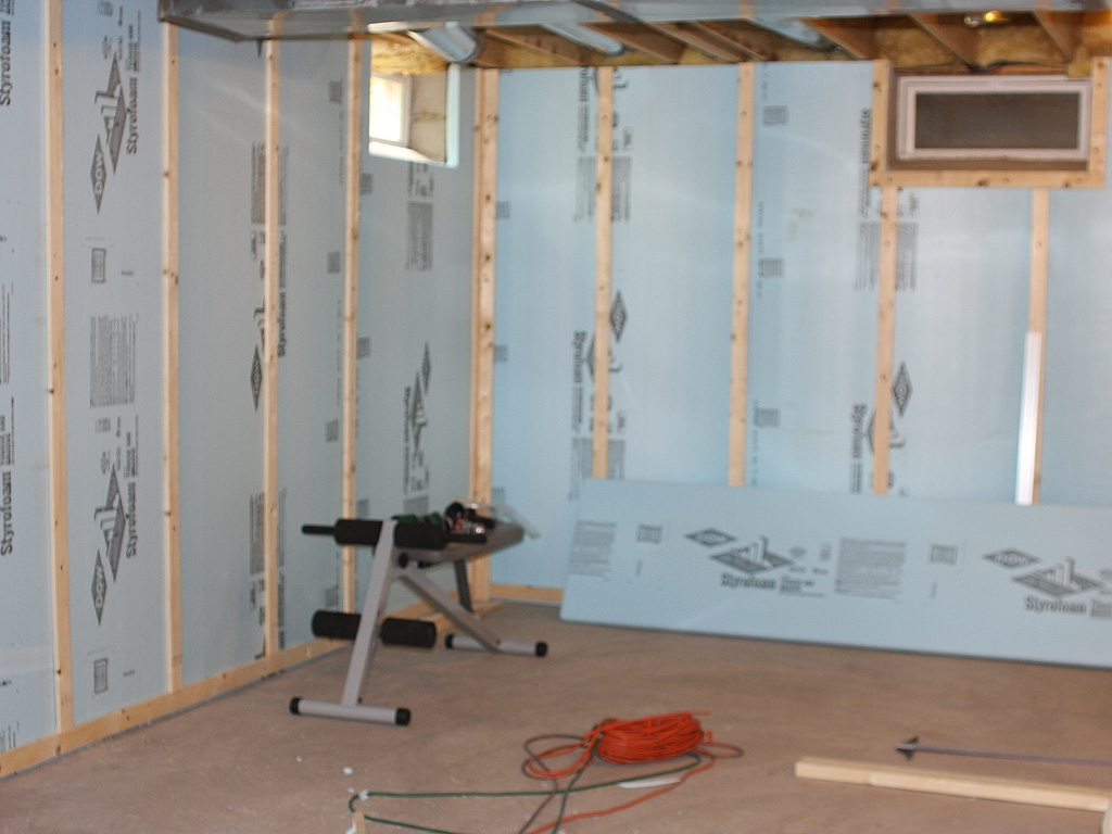 Interior Basement Wall Finishes
