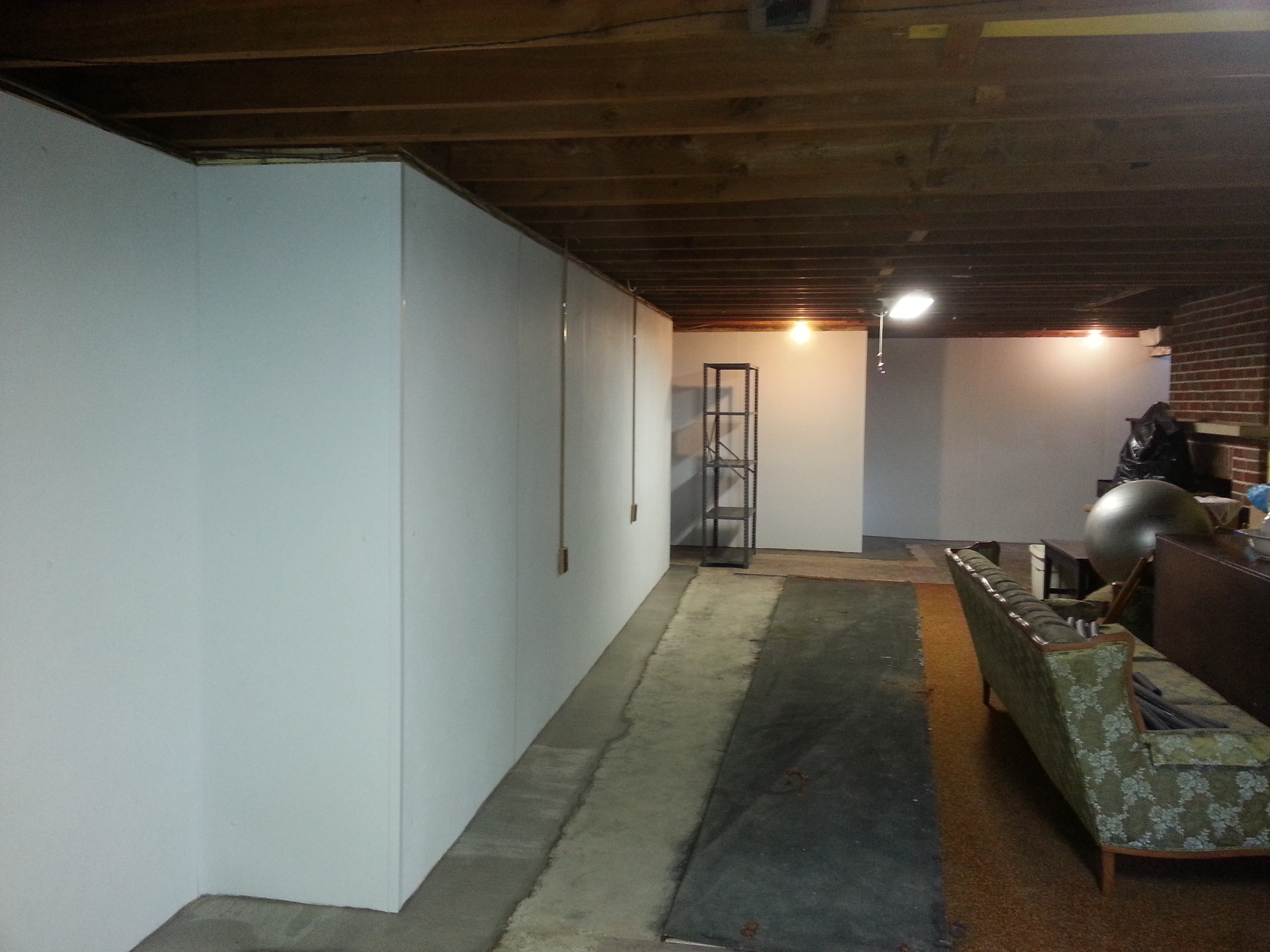 Interior Basement Wall Waterproofing Systemspioneer basement solutionsbasement waterproofing systems pioneer