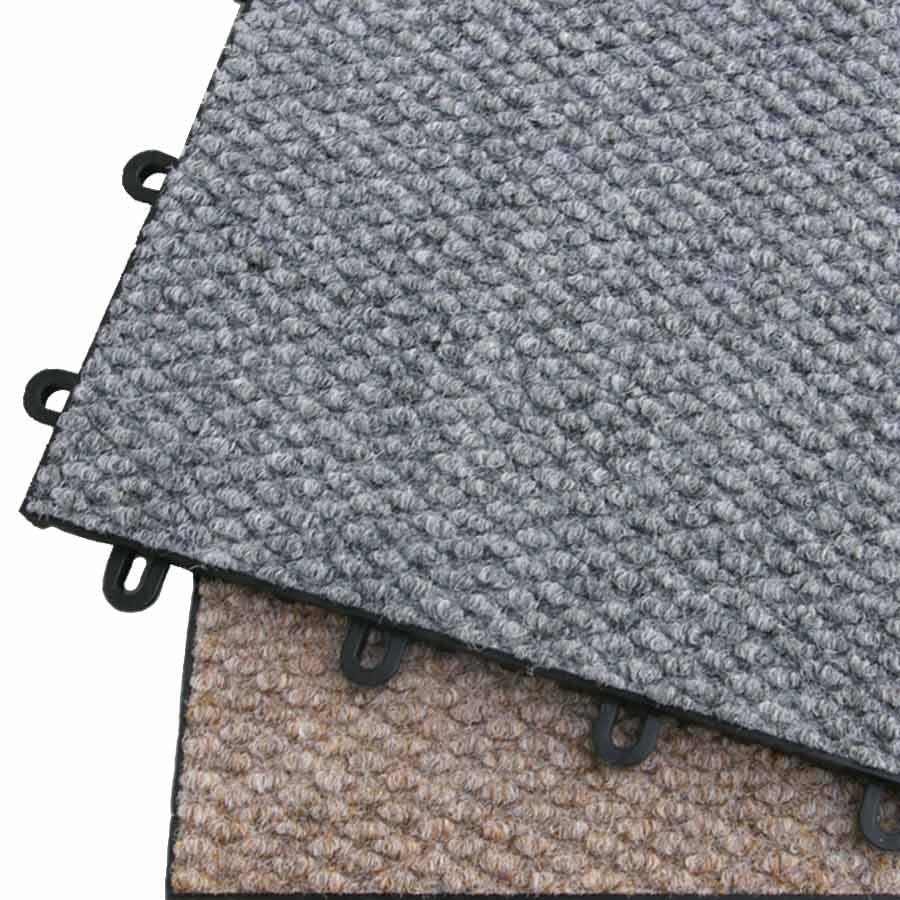 Interlocking Carpet Tiles Basement