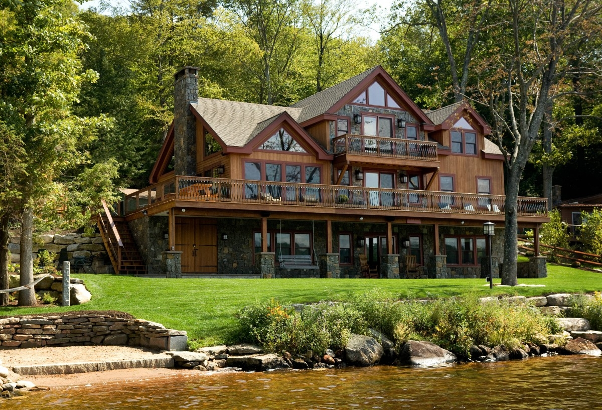 Lakefront Homes With Walkout Basements