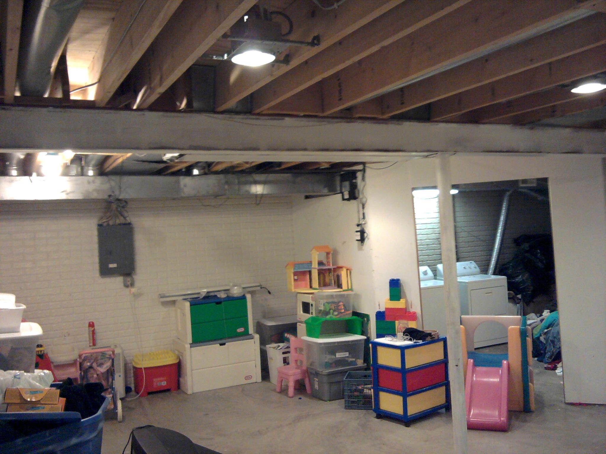 Led Lights For Basement Ceiling