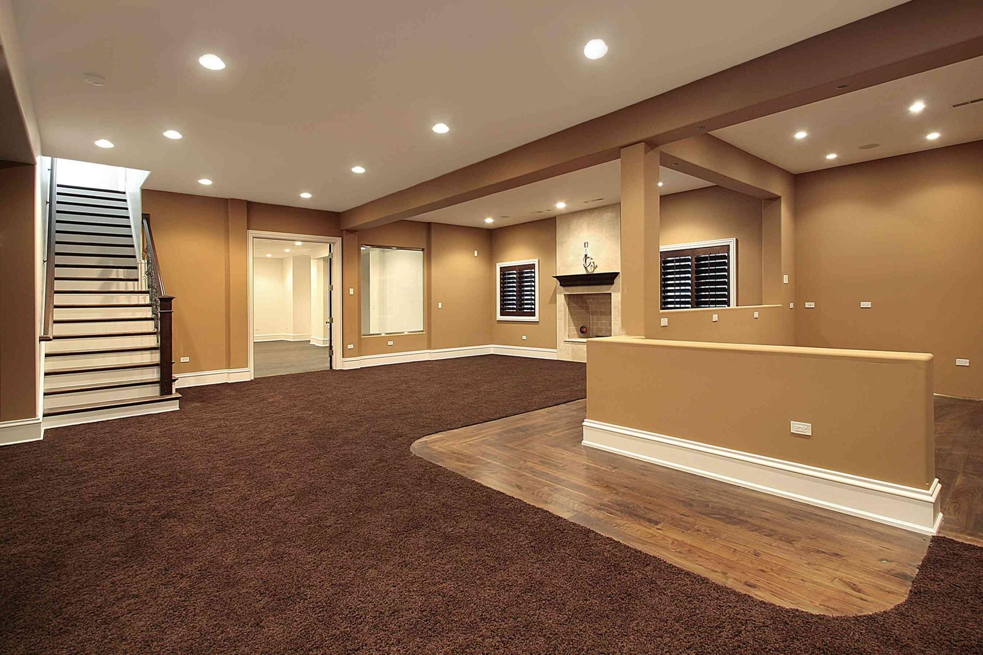 Leveling Basement Floor For Carpet