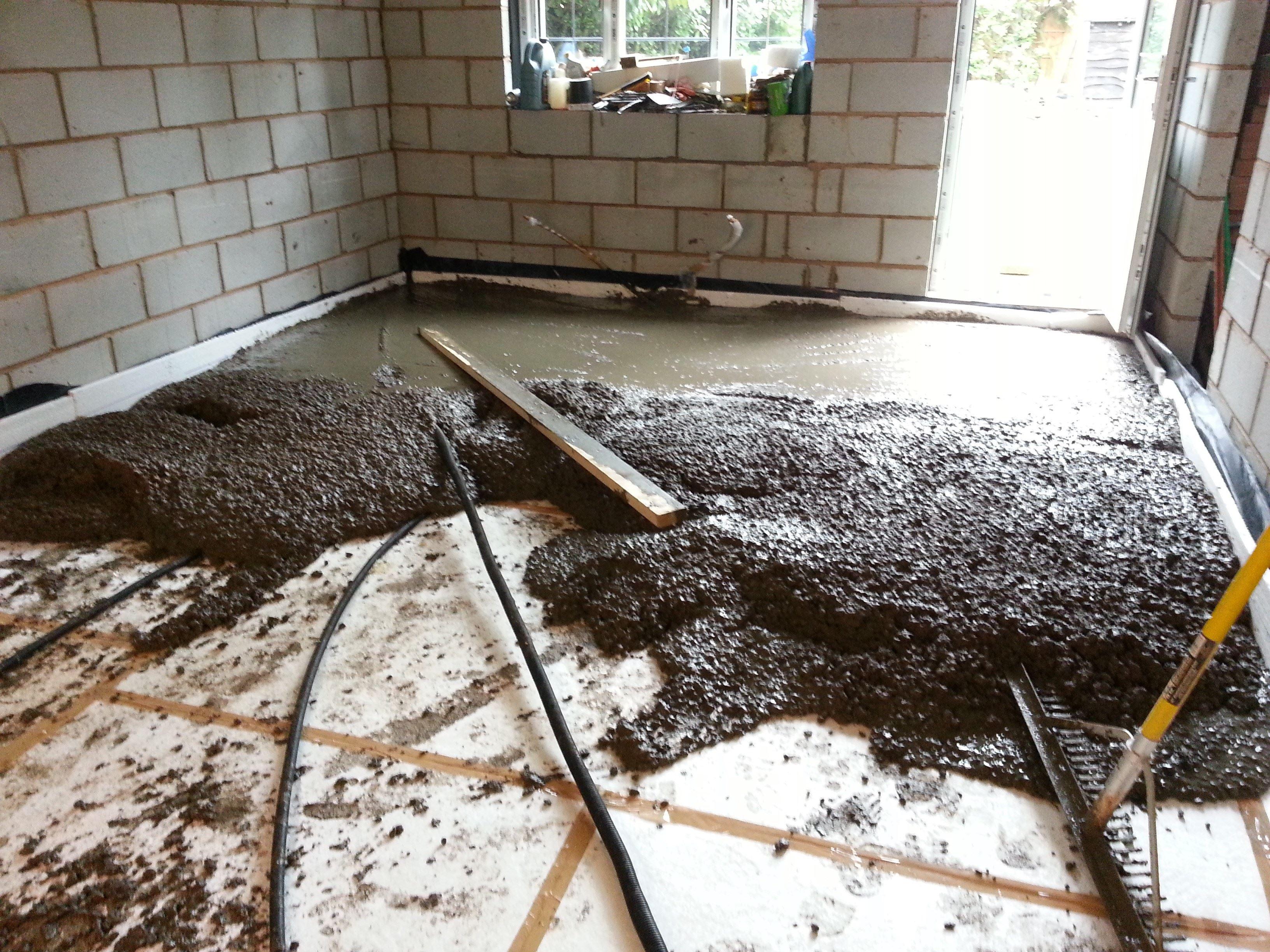 Leveling Basement Floor For Tile