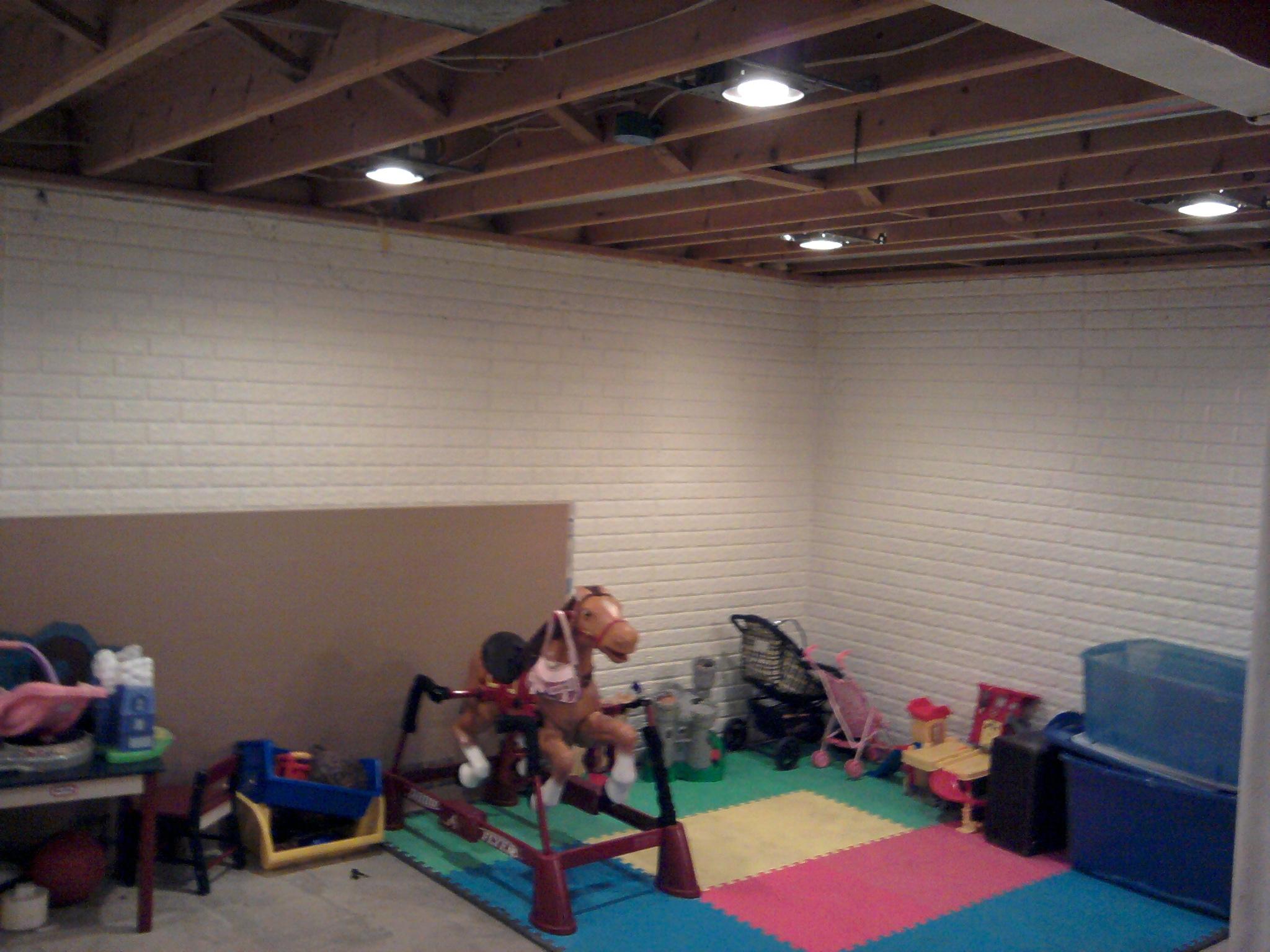 Light Fixtures For Basement Ceiling