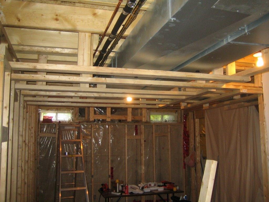 Low Basement Ceiling Options